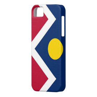 IPhone 5 Case with Flag of Denver, Colorado