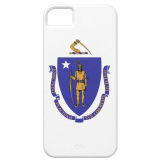 IPhone 5 Case with Flag of Massachusetts