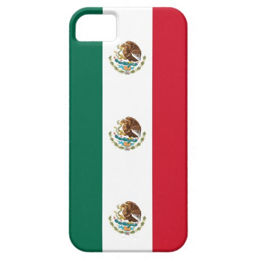 IPhone 5 Case with Flag of Mexico