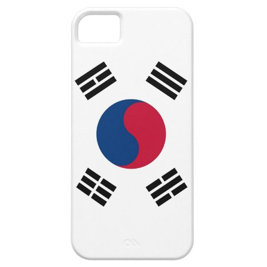 IPhone 5 Case with Flag of South Korea