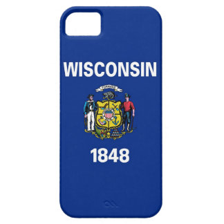 IPhone 5 Case with Flag of Wisconsin