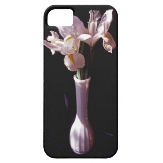 iPhone 5 Case With Irises In White Vase Image