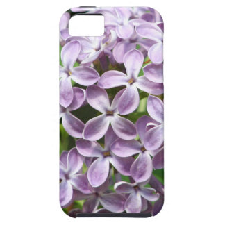 iPhone 5 case with photo of beautiful purple lilac