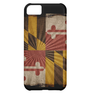 Iphone 5 Case with state flag of Maryland