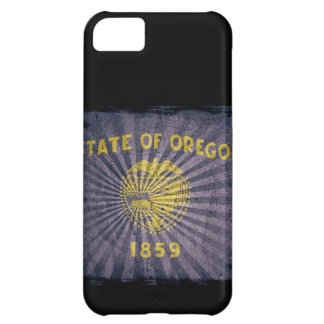 Iphone 5 Case with state flag of Oregon