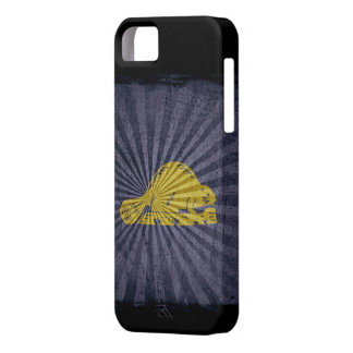 Iphone 5 Case with state flag of Oregon (back)