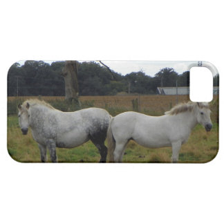 iPhone 5 case with two horses facing apart