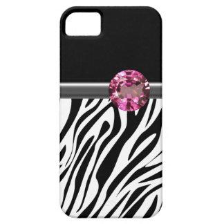 iPhone 5  Case Zebra Bling iPhone 5 Cases