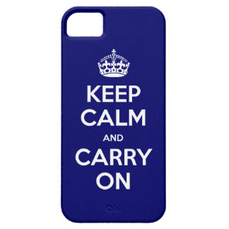 iPhone 5 Casemate Vibe or Barely There Keep Calm iPhone SE/5/5s Case