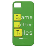 Game Letter Tiles  iPhone 5 Cases