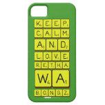 keep calm and love Retha wa Bongz  iPhone 5 Cases
