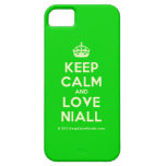 [Crown] keep calm and love niall  iPhone 5 Cases