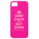 [Crown] keep calm and eat sushi  iPhone 5 Cases