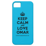 [Crown] keep calm and love omar  iPhone 5 Cases