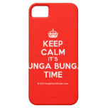 [Crown] keep calm it's bunga bunga time  iPhone 5 Cases