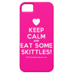 [Love heart] keep calm and eat some skittles!  iPhone 5 Cases