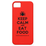 [Cutlery and plate] keep calm and eat food  iPhone 5 Cases