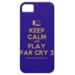 [Computer] keep calm and play far cry 3  iPhone 5 Cases
