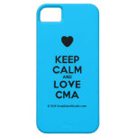 [Love heart] keep calm and love cma  iPhone 5 Cases