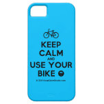 Keep Calm And Use Your Bike Design On T Shirt Poster