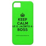 [Crown] keep calm que o jacinto é o boss  iPhone 5 Cases