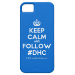 [Crown] keep calm and follow #dhc  iPhone 5 Cases