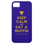 [Chef hat] keep calm and eat a muffin  iPhone 5 Cases