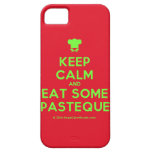 [Chef hat] keep calm and eat some pasteque  iPhone 5 Cases