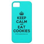 [Crown] keep calm and eat cookies  iPhone 5 Cases