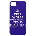 [Crown] keep woles dan katakan yesus selalu baik  iPhone 5 Cases