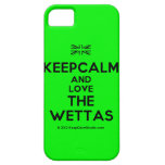 [UK Flag] keepcalm and love the wettas  iPhone 5 Cases