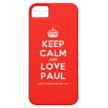 [Crown] keep calm and love paul  iPhone 5 Cases