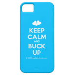 [Two hearts] keep calm and buck up  iPhone 5 Cases