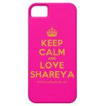 [Crown] keep calm and love shareya  iPhone 5 Cases