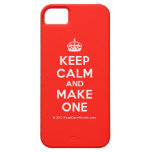 [Crown] keep calm and make one  iPhone 5 Cases
