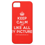 [Crown] keep calm and like all my pictures  iPhone 5 Cases