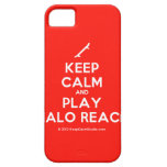 [Skateboard] keep calm and play halo reach  iPhone 5 Cases