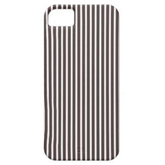 iPhone 5 Cases - Stripes Trend in French Roast