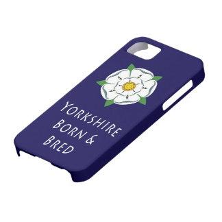iPhone 5 caso llevado y criado de Yorkshire iPhone 5 Carcasa