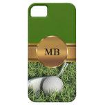 iPhone 5 casos del golf del monograma iPhone 5 Funda