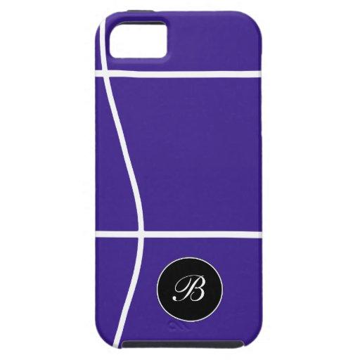 iPhone 5 casos del monograma iPhone 5 Carcasa
