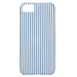 iPhone 5 casos - tendencia de las rayas en azul de Funda Para iPhone 5C