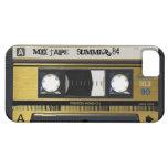 iPhone 5 Cassette Tape Retro Mix Tape Cover 1984 iPhone 5 Case