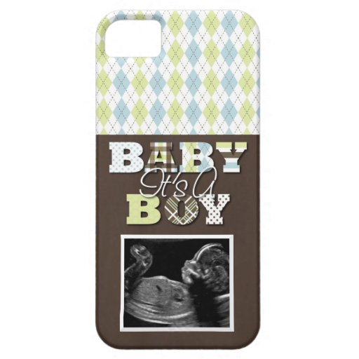 iPhone 5 Cell Phone Case Ultrasound Picture Boy! : Zazzle