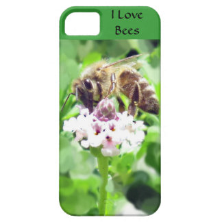 iPhone 5 CM/BT - Honeybee on blossom iPhone SE/5/5s Case