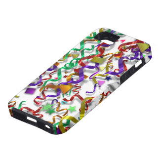 iPhone 5 Confetti Streamers Case iPhone 5 Covers