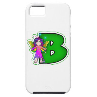 iPhone 5 Cover Cute Fairy Initial B