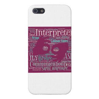 iPhone 5 Cover - Interpreter
