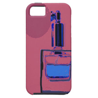 iPhone 5 cover pink with perfume bottle