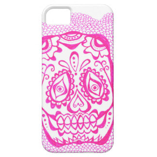 iphone 5 cover with skull henna like tattoo